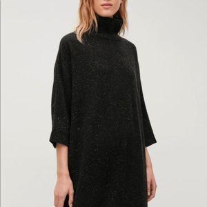 Amazing COS high neck oversized dress wool M new